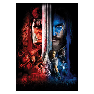 Warcraft and World of Warcraft. Размер: 50 х 70 см